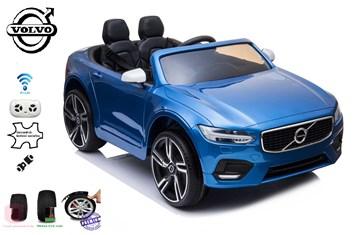 Dětské elektrické autíčko VOLVO S90 s 2,4G DO  - modrá lakovaná metalíza