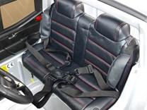 Mercedes – Benz X-Class 4x4, dvoumístný pick up s 2.4G DO, plynulým rozjezdem,USB,Mp4 přehrávač, čalouněním, EVA koly  XMX606.silver