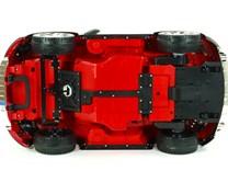 DĚTSKÉ  ELEKTRICKÉ  AUTÍČKO  VOLKSWAGEN  BEETLE DUNE - lakovaná červená barva - S303LAKČV