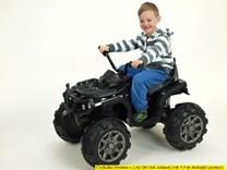 Dětská elektrická čtyřkolka Predátor černá