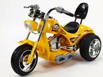 Dětská elektrická motorka Red Hawk ZP5008.žlutá