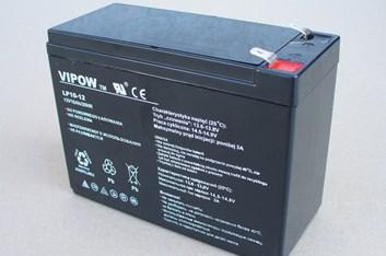 Baterie gelová Vipow 12V/10Ah/20HR pro dětská vozítka