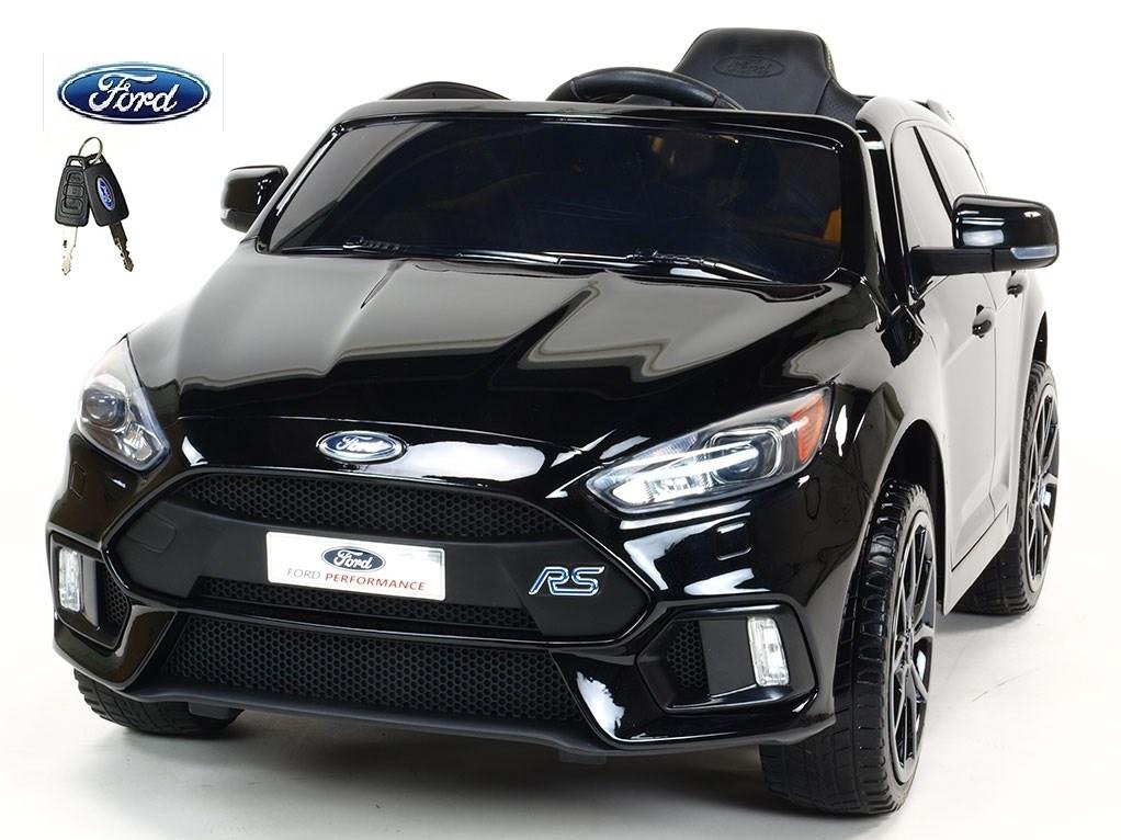 Ford Focus RS s 2.4G DO, FM, USB, TF, Mp3, LED osvětlením, otvíracími dveřmi, pérováním, čalouněnou sedačkou, EVA koly,černá lakovaná