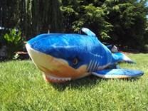Plyšový žralok modrý