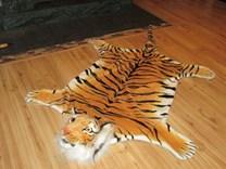 Plyšová předložka - tygr - XL