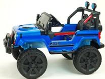 Dětské el. autíčko Džíp Samuraj s 2.4G DO a EVA koly 6688 - - Modrá
