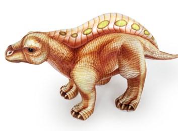 Plyšový Lotosaurus hnědý