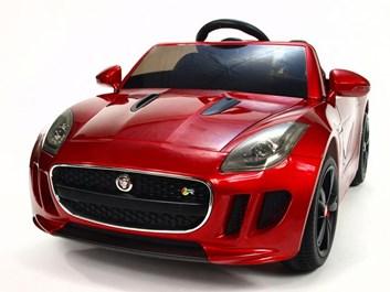 Dětské el auto Jaguar F type/R červená