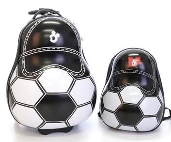 Dětský kufr s batohem značky  T-Class - Fotbalový míč II. jakost