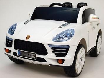 Dětské elektrické autíčko SUV Kajen s 2,4G dálkovým ovládáním  bílé