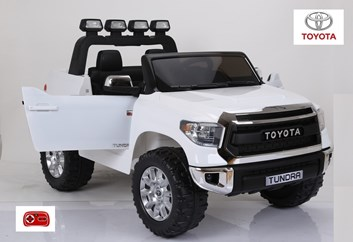 Toyota Tundra 12V s 2,4G DO pro 2 děti střední velikost, bílá