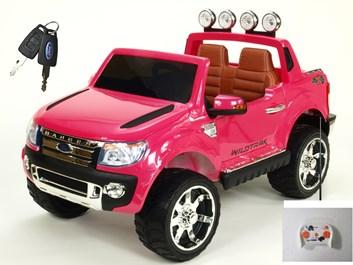 Licenční džíp Ford Ranger LUX s DO růžová lakovaná