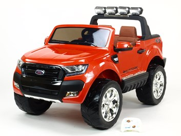 Dětské Licenční el. autíčko pro 2 děti Ford Ranger 4x4, DKF650.orange