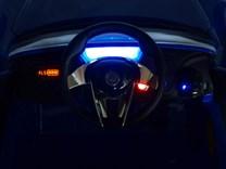 Dětské elektrické autíčko Maserati Alfieri s 2.4G dálkovým ovládáním, otvíratelné dveře, odpružení, USB, SD, MP3   SX1728.red