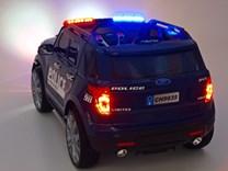 Dětské el. autíčko Policie super speed CH9935.blue