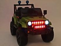 Dětské el. autíčko Džíp Samuraj s 2.4G DO a EVA koly 6688 -