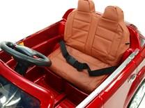 Dětské elektrické autíčko Audi Q7 s 2,4G DO a čalouněnou sedačkou a odpruženou nápravou - HLQ7 2,4G- Vínová