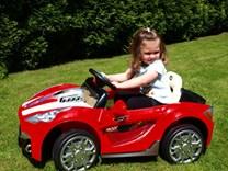 Dětské elektrické závodní autíčko + RC