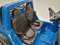 Auto pro 2 děti JUMBO  INTERCEPTOR s 2,4G RC , modrý
