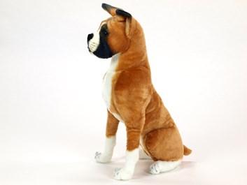 Plyšový Boxer sedící