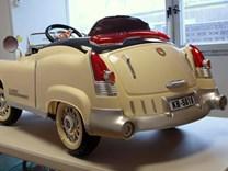 Dětské autíčko Retro KUBA NEW s ,4G DO  KB5018. beige