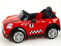 Dětské elektrické autíčko Morísek červený