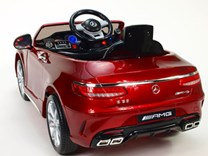 Dětské el. autíčko licenční Mercedes Benz S63 AMG  HL169.red