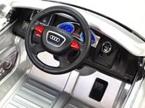Dětské elektrické autíčko Audi Q7 s 2,4G DO a čalouněnou sedačkou a odpruženou nápravou - HLQ7 2,4G.silver