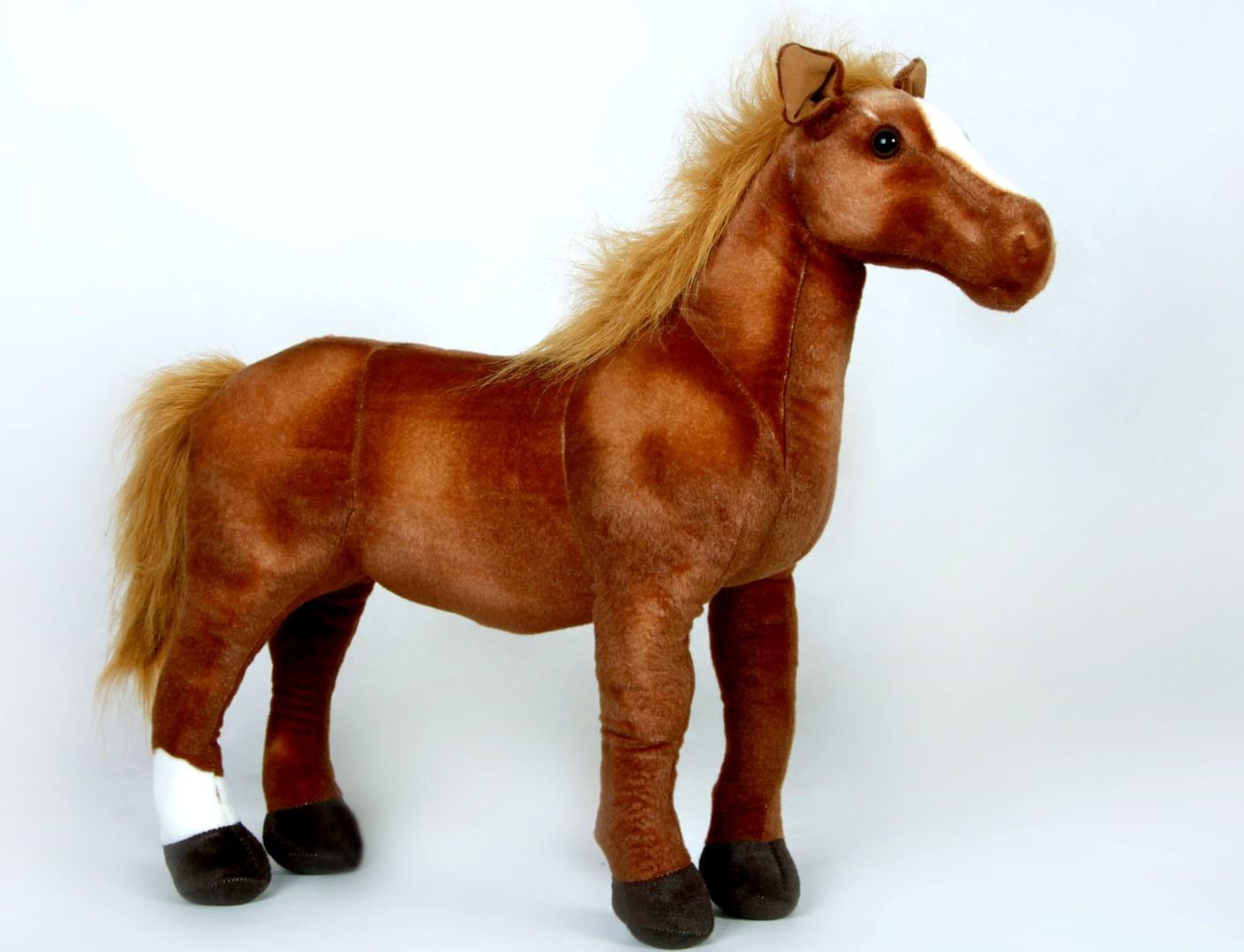 Plyšový kůň - velikost M