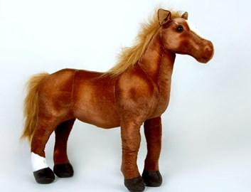 Plyšový kůň Arabský plokrevník 65 cm