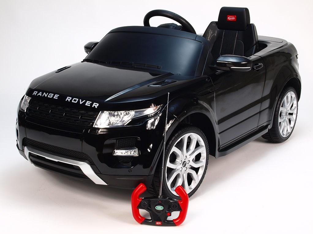 Dětské el. autíčko Licenční Range Rover EVOQUE 81400.black