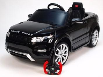 Dětské el. autíčko Licenční Range Rover EVOQUE černá