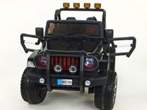 Dětské el. autíčko - džíp Wrangler s 2,4G Do, náhon všech 4 kol -  WXE1688.BLACK