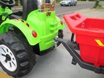 zapojení vleku speciálním okem k traktoru Kingdom - JS318