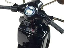 Dětský elektrický  skútr Piaggio Vespa černá