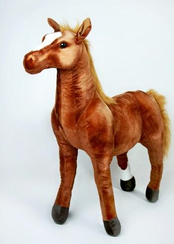 Plyšový kůň Arabský plnokrevník 94cm