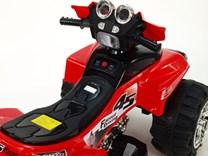 Dětská elektrická čtyřkolka FD Sport červená