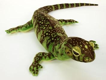 Plyšový varan zelený