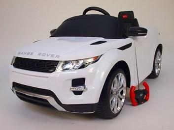 Dětské el. autíčko Licenční Range Rover EVOQUE bílá