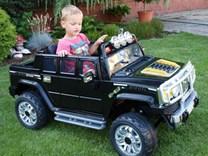 Dětské elektrické auto H2 Extender