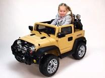 Dětský elektrický džíp Reback - JJ235.brown