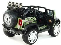 Dětský elektrický džíp Reback LUX s 2,.4G DO a EVA koly maskáčový