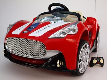 Dětské elektrické závodní autíčko JE108BČV
