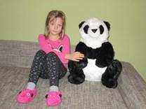 Plyšový medvídek Panda