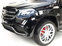 Dětské elektrické autíčko pro 2 děti , Mercedes GLS63 , náhon  4x4 , černá lakovaná