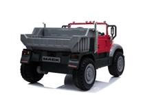 Dětské  nákladní auto licenční MACK TRUCKS s 2,4G dálkovým ovladačem , červený
