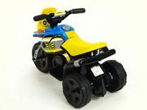 Dětská elektrická minimotorka  Racing modrá