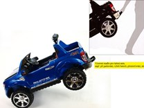 Dětské el. autíčko pro 2 děti Ford Ranger 4x4, DKF650.wine - vínová lakovaná