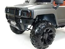 Dětské el. autíčko Dvoumístný Hummer Simba s 2,4G DO stříbrná