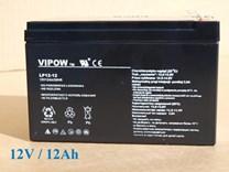 Baterie gelová VIPOW 12V/12Ah/20HR pro dětská vozítka